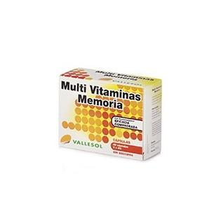 VALLESOL MULTIVITAMINAS MEMORIA  40 CAPSULAS