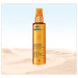 Nuxe Sun aceite bronceador SPF 10 150ml