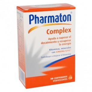 PHARMATON COMPLEX COMP  20 COMP EFERVESCENTES