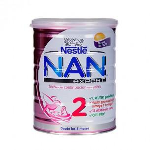 NAN 2 LECHE LACTANTES DE CONTINUACION  800 G