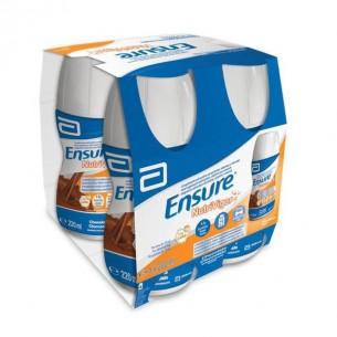 ENSURE NUTRIVIGOR BOTELLA  4 BOTELLA 220 ML CHOCOLATE