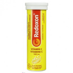 REDOXC 1 G 30 COMPRIMIDOS EFERVESCENTES LIMON