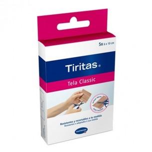 TIRAS ADHESIVAS TIRITAS CLASSIC 10 U 1MX6 CM
