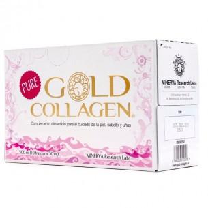 GOLD COLLAGEN PURE 50 ML 10 FRASCOS MONODOSIS