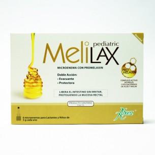 MELILAX PEDIATRIC MICROENEMAS 5 G 6 UNIDADES ABOCA