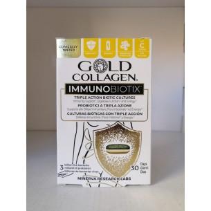 GOLD COLLAGEN INMUNOBIOTIX 30 COMPRIMIDOS 40,5 GRS