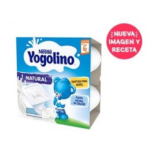 NESTLE YOGOLINO 4 TARRINAS 100 G SABOR NATURAL