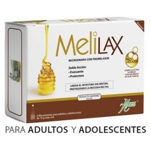 MELILAX MICROENEMAS 10 G 6 UNIDADES ABOCA