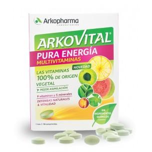 ARKOVITAL PURA ENERGÍA 30 COMPRIMIDOS