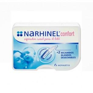 RHINOMER BABY (NARHINEL CONFORT) ASPIRADOR NASAL 1 U + 2 RECAMBIOS