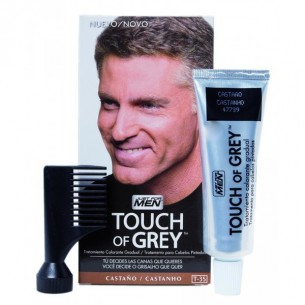 TOUCH OF GREY CASTAÑOS 40 G JUST FOR MEN