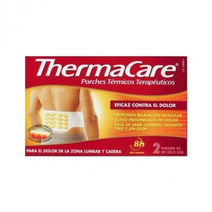THERMACARE ZONA LUMBAR Y CADERA PARCHES TERMICOS