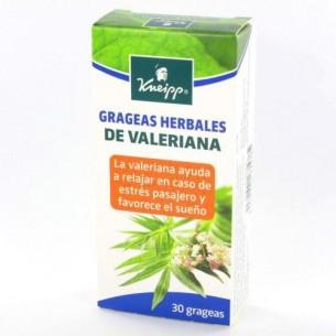 GRAGEAS HERBALES DE VALERIANA KNEIPP 30 GRAGEAS