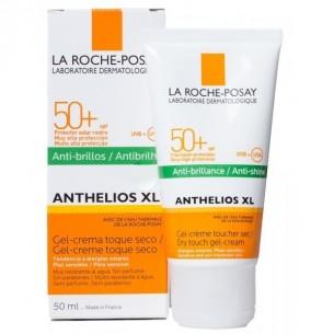 ANTHELIOS XL 50+ GEL CREMA TOQUE SECO PERFUME LA ROCHE POSAY COLOR 50 ML