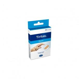 TIRAS ADHESIVAS TIRITAS PLASTIC 20 U 19X72